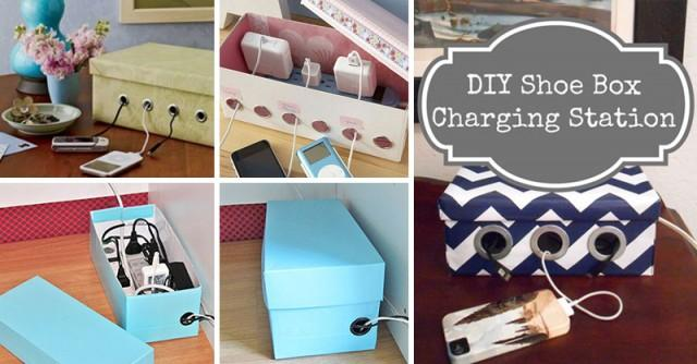 shoe-box-charging-station