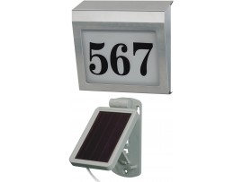 Brennenstuhl Illuminated House Number Solar Power SH 4000 E, Brennenstuhl 1179850
