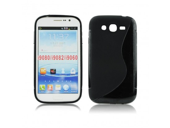 Back Case S-line - SAM i9060 Galaxy Grand Neo black oem 5901737226310