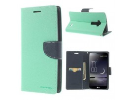 θήκη iphone 6 πετρόλ της Goospery Fancy Diary Case Mercury mint-navy flip φλιπ καπακι 5901737243676