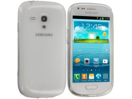 θήκη ultra slim 0.3mm σιλικόνης TPU για Samsung i8190 Galaxy S3 mini  , και Value Edition I8200,διάφανο clear oem 5901737237606
