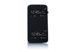 Lg g3 s mini D722 θήκη s-view καπάκι για Lg g3 s mini D722 blue/black oem 5901737257086