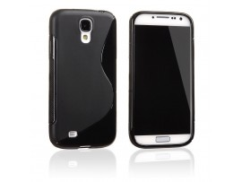 θήκη σιλικόνης TPU s-line μαύρη galaxy S4, value edition i9500 i9505 i9515 oem E281476863158BLACK-S4