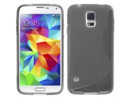 θήκη σιλικόνης TPU s-line γκρί galaxy S4, value edition i9500 i9505 i9515 oem E281476863158G-S4