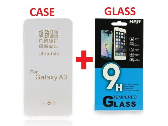 Θήκη KAI tempered glass slim 0.33mm, θήκη slim 0.33mm Galaxy A3 SM-A300F oem 5901737287212